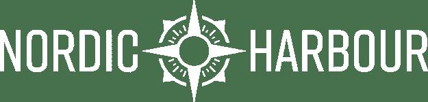 Nordic Harbour Logo weiß